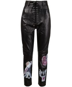 Claire Barrow | Lace-Up Appliqué Trousers