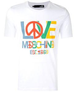 Love Moschino | Peace Logo T-Shirt