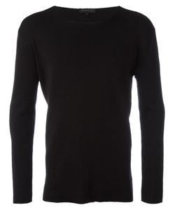 Ann Demeulemeester Grise | Crew Neck Sweatshirt Medium Cotton/Rayon