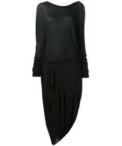 Barbara I Gongini | Longsleeves Asymmetric Dress