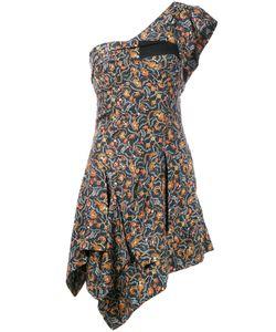 Isabel Marant | One Shoulder Foliage Print Dress Size 38