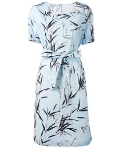 Blumarine   Printed Belted Dress Size 46