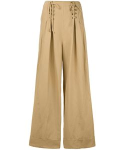 Ulla Johnson | Lace-Up Flared Trousers