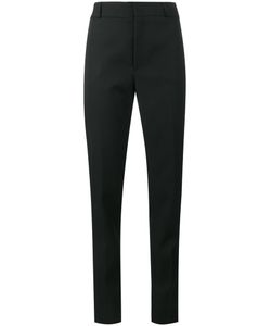 Saint Laurent | Satin Stripe Suit Trousers Cotton/Polyester/Virgin