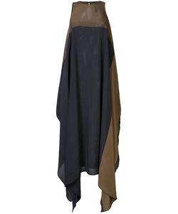 Uma Wang | Bi-Colour Asymmetric Dress