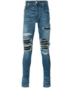 Amiri   Distressed Skinny Jeans 34