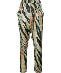 Baja East | Patterned Trousers Size