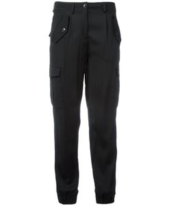 Boutique Moschino | Tapered Cuffs Cropped Trousers