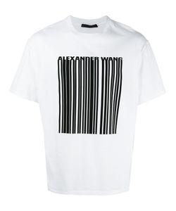 Alexander Wang | Bonded Barcode T-Shirt 52 Cotton