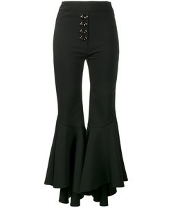 Ellery | Flared Cropped Trousers 8
