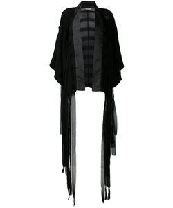 Murmur   Fringe Kimono Jacket