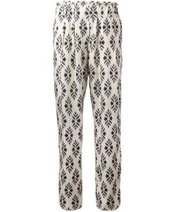 Forte Forte | Printed Slim-Fit Trousers Size I