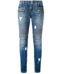 Balmain | Distressed Biker Jeans 42