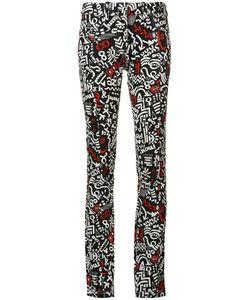 Paco Rabanne | Printed Jeans 38