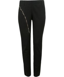 Uma | Tapered Zip Detail Trousers