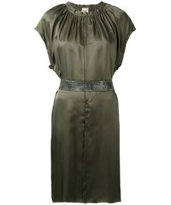 Nude | Short Sleeve Belted Dress Women