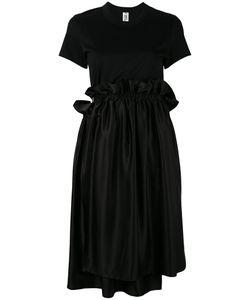 Comme Des Garçons Noir Kei Ninomiya | Ruffle Waist T-Shirt Dress