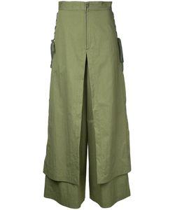 G.V.G.V.   G.V.G.V. Lace Up Layered Wide Trousers