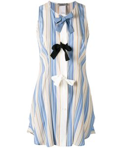 Sportmax | Striped Bow Top 40