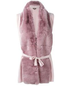 N.Peal | Furry Detail Cardi-Coat Size Xs