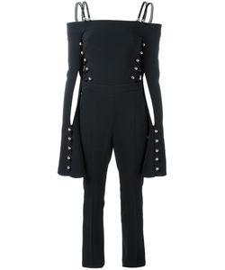 David Koma | Cut-Out Stud Jumpsuit Size 10