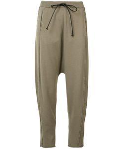 Isabel Benenato | Drop Crotch Track Pants