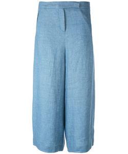 Loro Piana   Wide-Legged Cropped Trousers Size 44