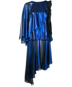 Robert Wun | Foiled Effect Dress