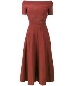 Barbara Casasola | Kate Knitted Off-Shoulder Dress