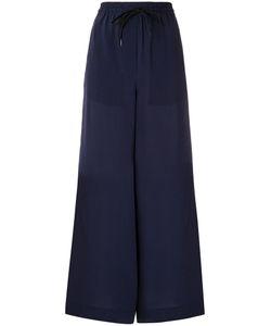 Osklen | Drawstring Pallazo Trousers Women M