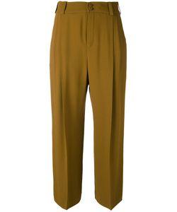 Lanvin | Creased Crop Trousers Women
