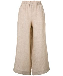 Daniela Gregis | Cropped Wide-Leg Trousers