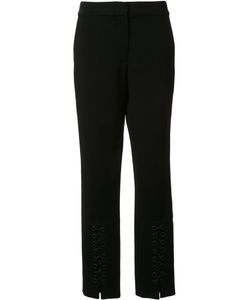 Yigal Azrouel | Lace Up Detail Slim Pants