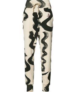 Vivienne Westwood Red Label   Squiggle Print Pants Size Medium