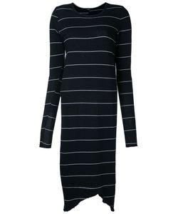 Bassike | Striped Fitted Dress L