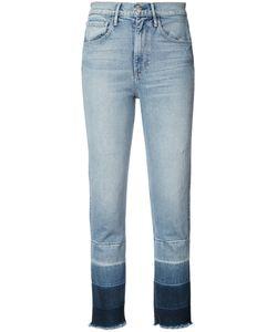 3X1 | Panelled Hem Cropped Jeans