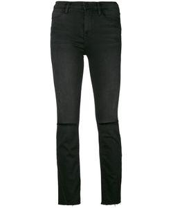 Frame Denim   Ripped Slim Fit Jeans