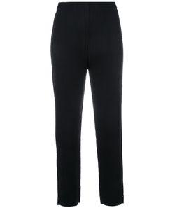 Issey Miyake Cauliflower   Ribbed Cropped Pants Women