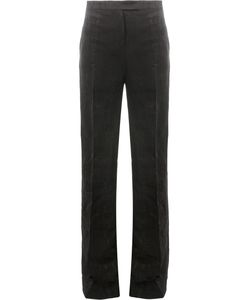 Yang Li | Textured High-Waisted Trousers