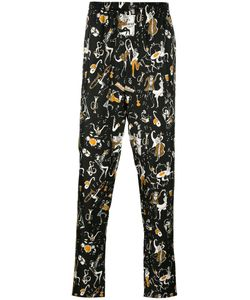 Dolce & Gabbana | Musical Print Pyjama Trousers 50 Silk