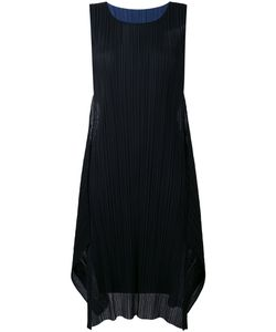 Pleats Please By Issey Miyake | Pleated Detail Shift Dress