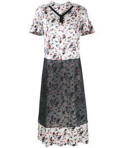 Toga Pulla   Printed Shortsleeved Dress Size