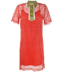 Jour/Né | Collared Lace Mini Dress 42