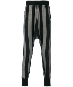 Unconditional | Striped Drop-Crotch Trousers Men L
