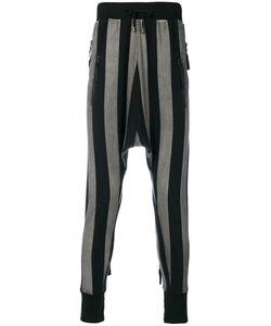 Unconditional | Striped Drop-Crotch Trousers Men L