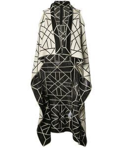 Gareth Pugh | Knitted Long Sleeveless Wrap Jacket