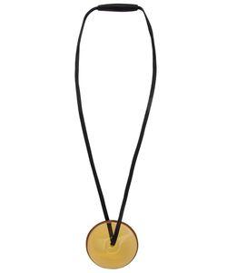 Monies | Disc Pendant Necklace
