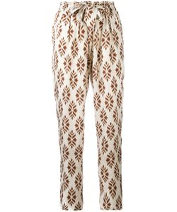 Forte Forte | Diamond Print Trousers Size 2