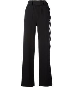 Veronique Leroy | Scallop Belted Trousers Size 42