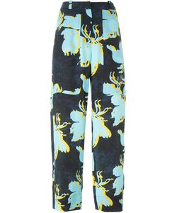 Cédric Charlier | Print Cropped Trousers 42